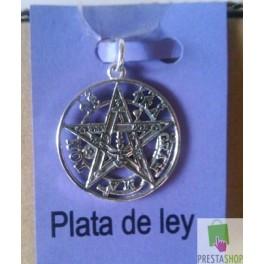 Tetragrammaton Talisman Protecciòn de 3cm