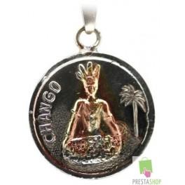 Amuleto Chango con reverso Tetragramaton