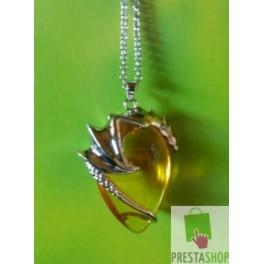 Amuleto Dragòn guardian del Sol