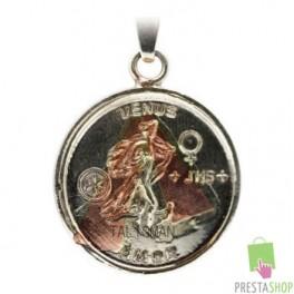 Amuleto Diosa Venus con Rey salomòn riqueza