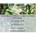 Consultas por Telèfono Tarot -25 Minutos