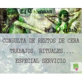 RESTOS DE CERA, INTERPRETACIÒN