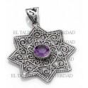 Estrella de Salomòn de plata