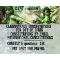 Cosultations International, Outside Spain for 25€